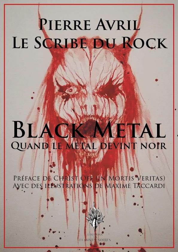 black metal, Pierre Avril, Scribe du rock