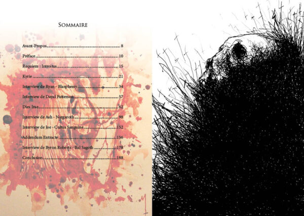 sommaire, Maxime Taccardi, Black metal
