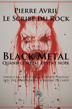 black metal, Pierre Avril, Scribe du rock