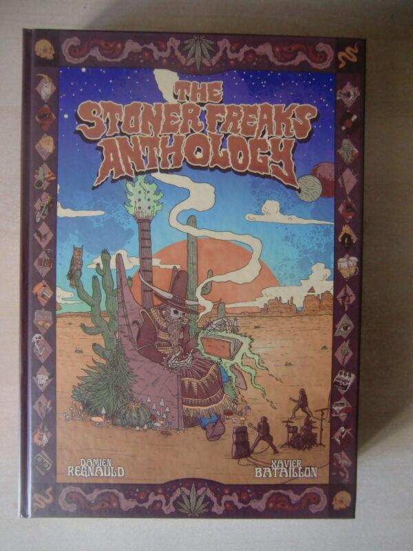 Couverture Stoner Freaks Anthology